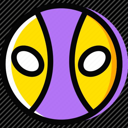 deadpool, emoji, emoticon, face icon