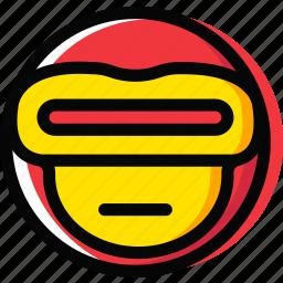 cyclops, emoji, emoticon, face icon