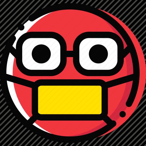 doctor, emoji, emoticon, face icon