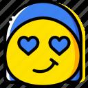 admirer, emoji, emoticon, face