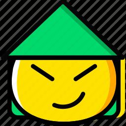 asian, emoji, emoticon, face icon