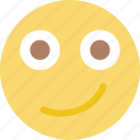 emoji, emoticon, face, smiling icon