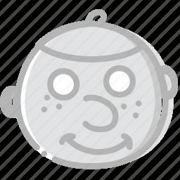 emoji, emoticon, face, jew icon