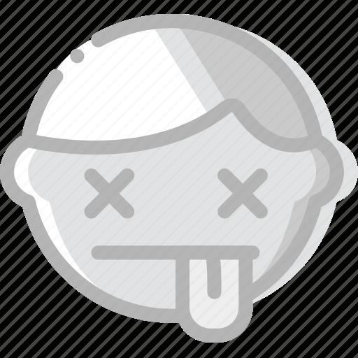 Dead, emoji, emoticon, face icon - Download on Iconfinder