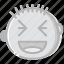 emoji, emoticon, face, lol icon
