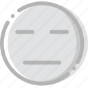emoji, emoticon, face, sceptic