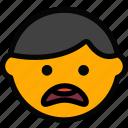 arguing, emoticon, emoji, face