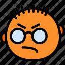 emoticon, face, emoji, mean