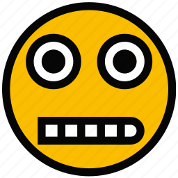 creeped, emoji, emoticon, face, out icon