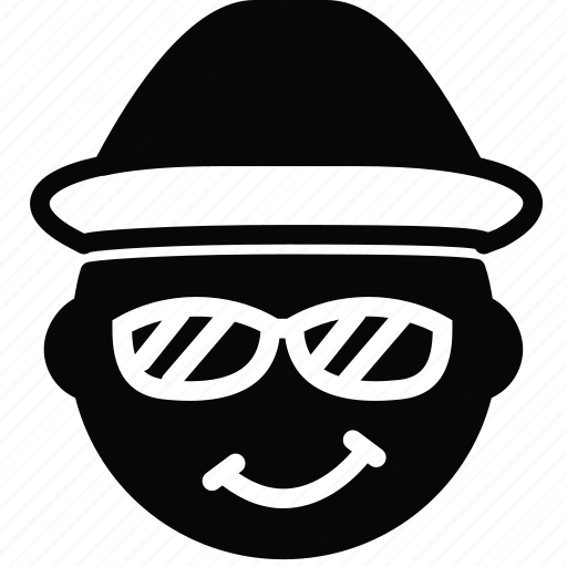 emoji, emoticon, face, guido icon