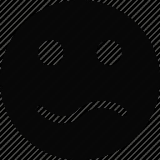 confused, emoji, emoticon, face icon