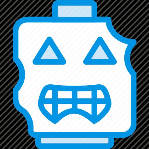 emoji, emoticon, face, zombie icon