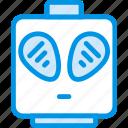 alien, emoticon, emoji, face