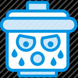 emoji, emoticon, face, sportsman icon