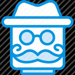 emoji, emoticon, explorer, face icon