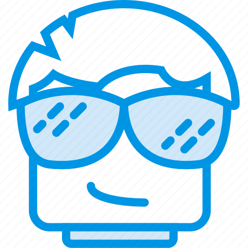 emoji, emoticon, face, rave icon