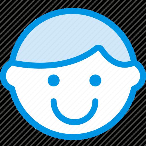 emoji, emoticon, face, happy icon