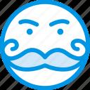 emoji, emoticon, face, rich