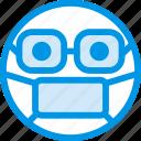 doctor, emoji, emoticon, face