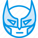 emoji, emoticon, face, wolverine icon