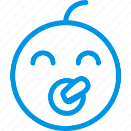 baby, emoji, emoticon, face icon