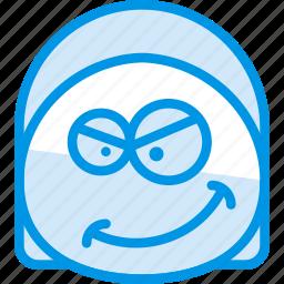 emoji, emoticon, face, kinky icon