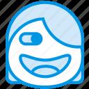 emoji, emoticon, face
