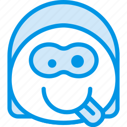 emoji, emoticon, face, silly icon