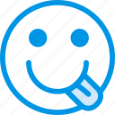 emoji, emoticon, face, wiffler icon