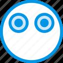 emoticon, emoji, silent, face