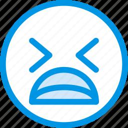 desperate, emoji, emoticon, face icon
