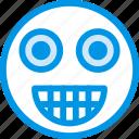 emoticon, emoji, amazed, face
