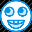 emoticon, face, emoji, happy