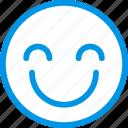 emoticon, smile, emoji, face