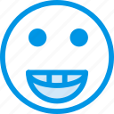 emoticon, emoji, joyful, face