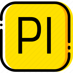 adobe, file, prelude, type, yellow icon