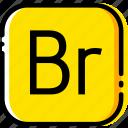 adobe, bridge, file, type, yellow icon