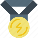 award, competition, fitness, health, medal icon