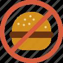 eat, fast, food, forbidden, hamburger