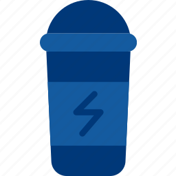 bottle, drink, fitness, health, protein icon