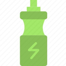 bottle, drink, fitness, health, water icon