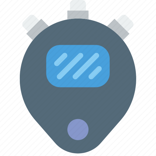 digital, fitness, gym, health, timer icon