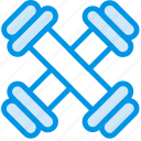 fitness, gym, health, lift, weights icon