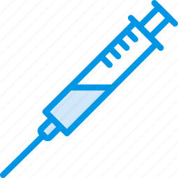 fitness, health, inject, steroids, syringe icon