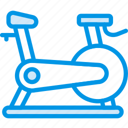 bicycle, fitness, gym, health, run icon
