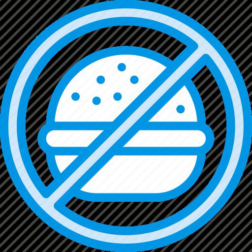 eat, fast, food, hamburger, unhealthy icon