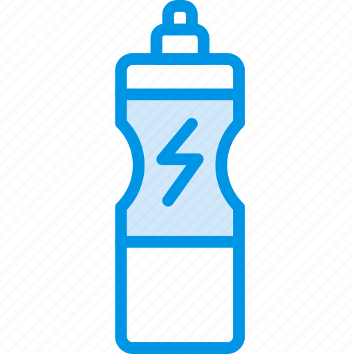 bottle, drink, fitness, gym, health, water icon