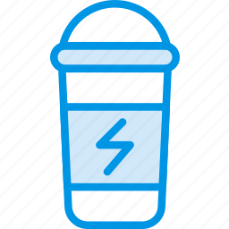 bottle, drink, fitness, gym, health, protein icon