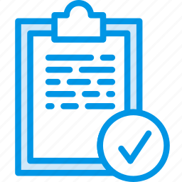 completed, fitness, health, tasks icon