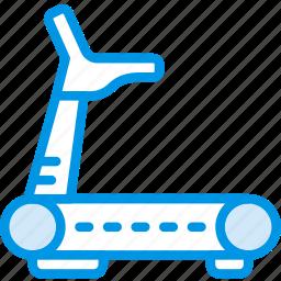 fitness, gym, health, run, treadmill icon